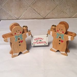 House of Lloyd Gingerbread Greetings Candle Holder